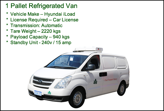 1 Pallet Refrigerated Van