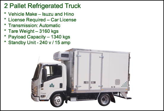 2 Pallet Refrigerated Truck