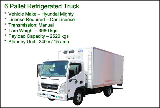 6 Pallet Refrigerated Truck