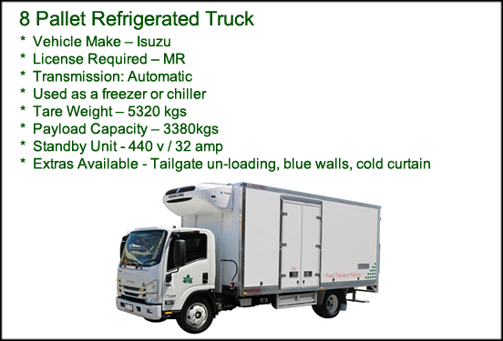 8 Pallet Refrigerated Truck
